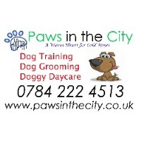 Paws In The City now Its The Dogs West Molesey Surrey Logo