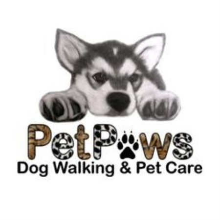 Petpaws Dog Walking & Pet Care Chigwell Essex Logo
