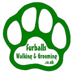 Furballs Walking And Grooming Burgate, Fordingbridge Hampshire Logo