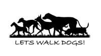 Lets Walk Dogs Burnopfield Durham Logo