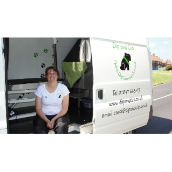 Dip And Clip Mobile Dog Grooming