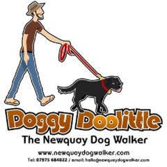 Doggy Doolittle- Newquay Newquay Cornwall Logo