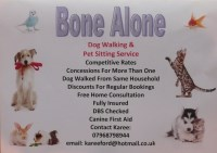 Bone Alone Barnstaple Devon Logo
