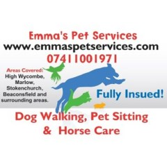 Emma's Pet Services Buckinghamshire High Wycombe Buckinghamshire Logo