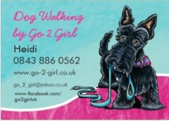 Go 2 Girl dog walking/Sitting services in Southwold, Suffolk