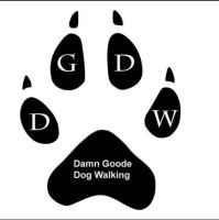 Damngoode Dog Walking Newton Abbot Devon Logo