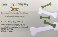 Bures Dog Company dog boarding services in Bures, Suffolk