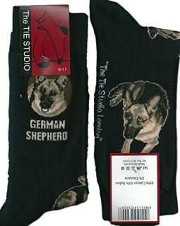 Black Warning  Shih Tzu Owner Socks I love my Dog Novelty Socks
