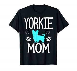 Yorkie Mom cute yorkshire terrier gift T-Shirt